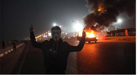 AT LEAST 40 DEAD IN CLASHES AT FOOTBALL GAME IN CAIRO
