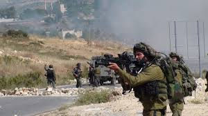 PALESTINIANS SUSTAIN INJURIES, CHOKE ON GAS IN CLASHES WITH IOF