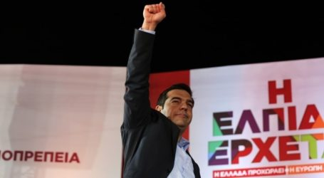 TSIPRAS: ISRAEL'S BRUTALITY AGAINTS THE PALESTNIANS MUST STOP