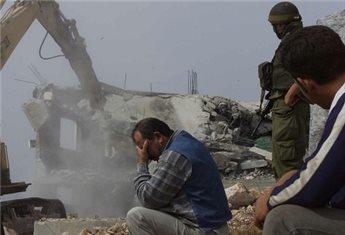 ISRAELI AUTHORITIES DEMOLISH BEDOUIN HOUSES IN NEGEV VILLAGE