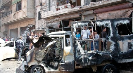 SYRIAN OPPOSITION GROUPS' CAR BOMBS AND ROCKETS INDISCRIMINATELY KILL CIVILIANS