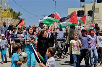 ISRAELI FORCES SUPPRESS WEEKLY MARCHES, INJURE 8