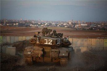 ISRAELI FORCES OPEN FIRE ON GAZA BORDER NEAR KHAN YOUNIS