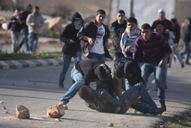 PROTESTERS WOUNDED IN VIOLENT IOF ATTACKS ON W. BANK MARCHES