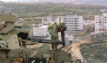 ISRAELI FORCES CONDUCT MILITARY TRAINING IN BIRZEIT