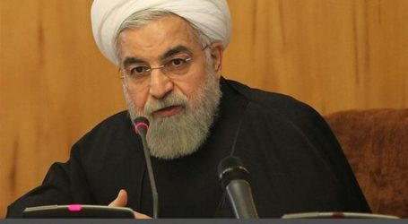 ROUHANI: IRAN NUCLEAR TALKS HAVE RUFFLED ISRAEL'S FEATHERS