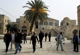 25 SETTLERS BREAK INTO AQSHA MOSQUE