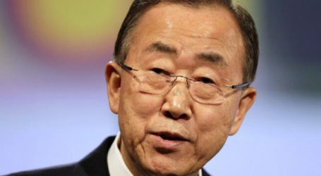 U.N. CHIEF BAN KI-MOON ARRIVES IN BAGHDAD FOR TALKS