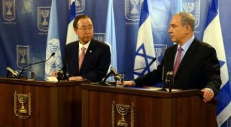 UN CHIEF URGES ISRAEL TO RENEW COMMITMENT TO TWO-STATE MODEL