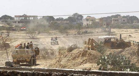 EGYPTIAN ARMY DECLARES DESTRUCTION OF 22 TUNNELS ON GAZA BORDER