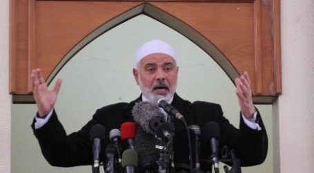 HANIYEH : PALESTINIAN CAUSE AT TURNING POINT, BUT REQUIRES POLITICAL WILL