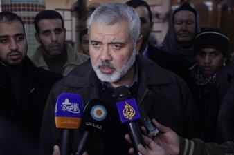 HANIYEH: HAMAS NOT SEEKING TO ESTABLISH A PALESTINIAN STATE IN GAZA