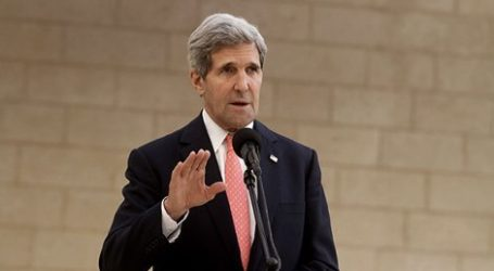 KERRY: US MUST EVENTUALLY NEGOTIATE WITH ASSAD