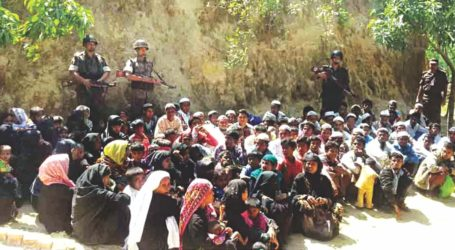 108 ROHINGYAS HELD FOR ILLEGAL ENTRY