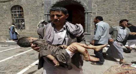SCORES KILLED IN SUICIDE ATTACKS ON YEMEN MOSQUES