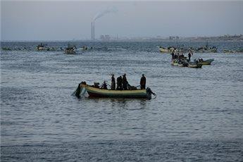 ISRAELI NAVY OPENS FIRE AT GAZA FISHING BOATS