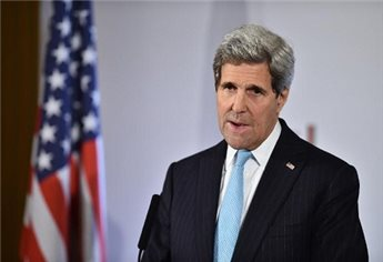 KERRY CALLS FOR US WAR POWERS TO STRIKE IS