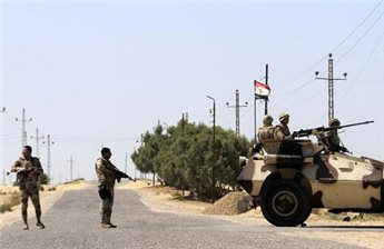 3 EGYPTIAN SOLDIERS KILLED IN SINAI EXPLOSION