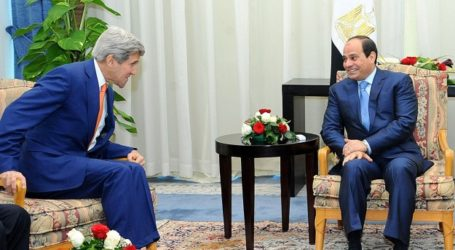 US 'COMMITTED' TO EGYPT'S ECONOMIC GROWTH, SECURITY: KERRY