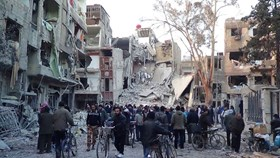 RIGHTS GROUP: 2.667 PALESTINIAN REFUGEES KILLED IN SYRIA