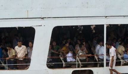 ARAKAN STATE FERRY ACCIDENT DEATH TOLL RISES TO 61