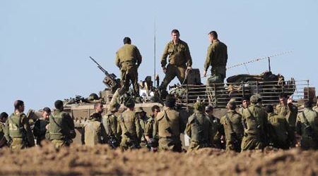 ISRAELI ARMY CALLS UP 13,000 RESERVISTS FOR MASS WEST BANK EXERCISES