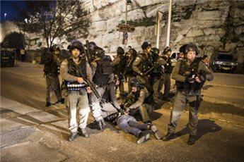 ISRAELI FORCES DETAIN FIVE PALESTINIANS IN SILWAN