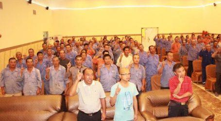 600 CHINESE WORKERS REVERT TO ISLAM IN SAUDI