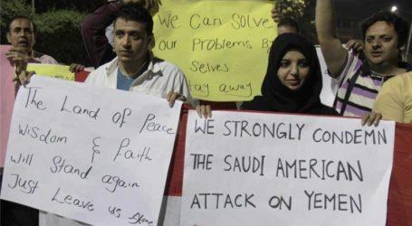 SAUDI ARABIA IS FIGHTING 'YEMENI PROXY WAR' FOR USA