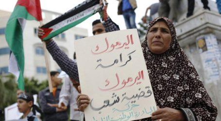 PALESTINIAN MINISTERS CUT GAZA TRIP SHORT