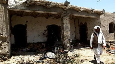 BLAST KILLS FIVE CIVILIANS IN SOUTHERN AFGHANISTAN