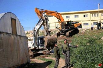 ISRAEL RAZES PALESTINIAN HOMES IN JORDAN VALLEY
