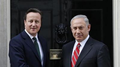 UK'S CAMERON DEFENDS 2014 ISRAELI WAR ON GAZA