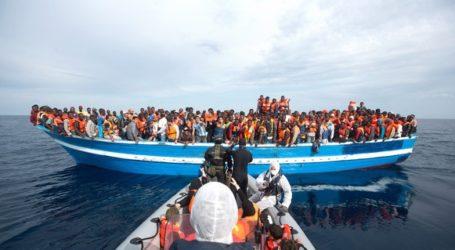 HUNDREDS 'LOCKED IN HOLD' OF BOAT CAPSIZED OFF LIBYA