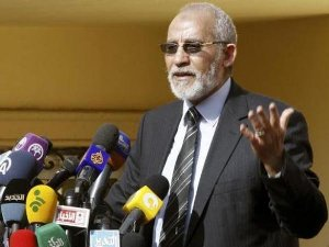 EGYPT REFERS BROTHERHOOD LEADER, 223 OTHERS TO MILITARY COURT