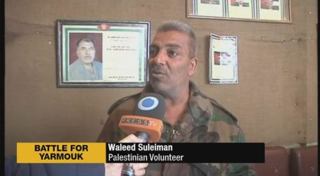 PALESTINIANS IN SYRIA UNITE TO DEFEND YARMOUK AGAINST ISIL