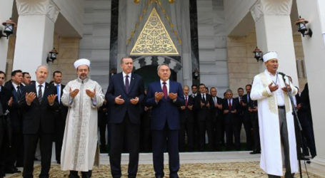 ERDOGAN CALLS FOR SOLUTION-BASED CHANGE IN KAZAKHSTAN