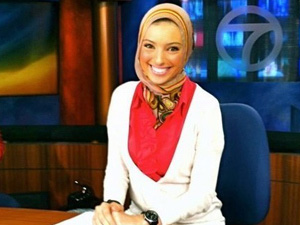 US GETS FIRST VEILED MUSLIM TV ANCHOR