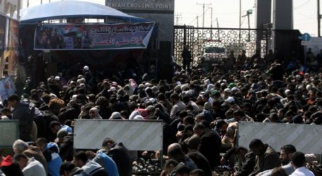 RAFAH CROSSING CLOSES FOR 100 DAYS