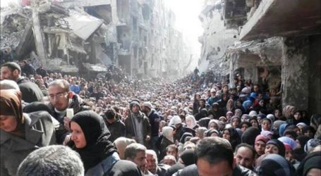 UN PLEA TO SAVE PALESTINIAN REFUGEES TRAPPED IN SYRIAN CAMP