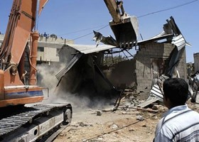 RIGHTS GROUP: 493 PALESTINIAN FACILITIES DEMOLISHED IN 2014