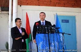 UN URGES PALESTINIAN UNITY, LIFTING THE SIEGE ON GAZA