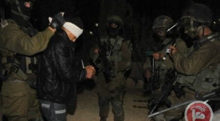 ISRAELI FORCES TARGET NABLUS-AREA VILLAGES IN OVERNIGHT RAIDS