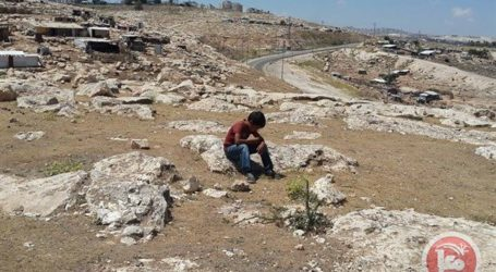 ISRAELI FORCES DEMOLISH PALESTINIAN HOME IN THE NEGEV
