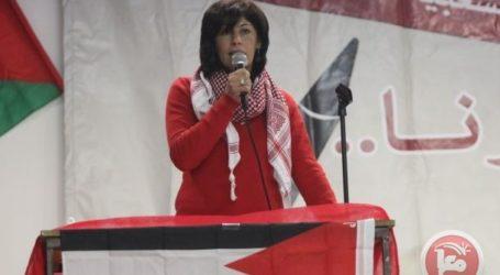 ISRAEL TO RELEASE MP KHALIDA JARRAR UNDER HOUSE ARREST
