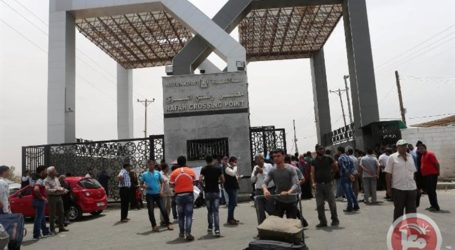 EGYPT OPENS RAFAH CROSSING WITH GAZA FOR 48 HOURS