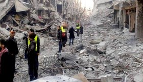 UNRWA RESUMES RELIEF OPERATIONS IN YARMOUK