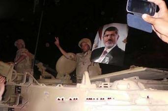 ERDOGAN: TO ME, MORSI IS EGYPT'S PRESIDENT