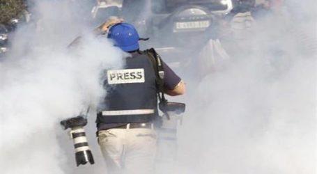 ISRAELI ARMY ATTACK JOURNALISTS IN BETHLEHEM