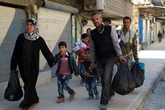 UNRWA : 3,500 PALESTINIAN CHILDREN STRANDED IN YARMOUK